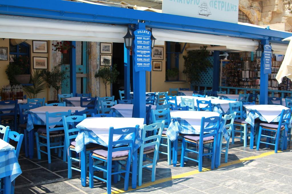 Chania. Restauracja