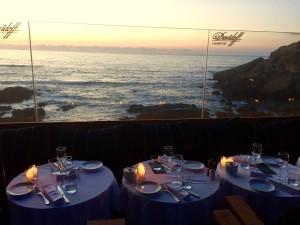 Restauracja Cabestan. Widok na ocean. Fot. Tomasz Jakubowski