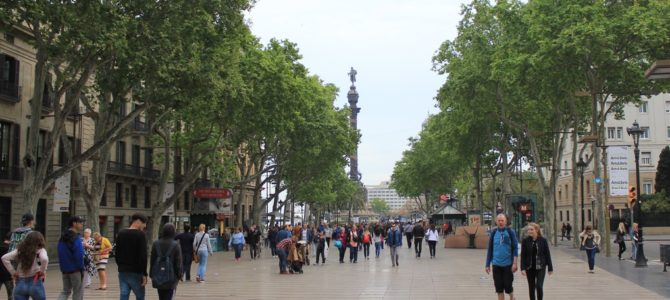 Barcelona – część 3 – spacerkiem