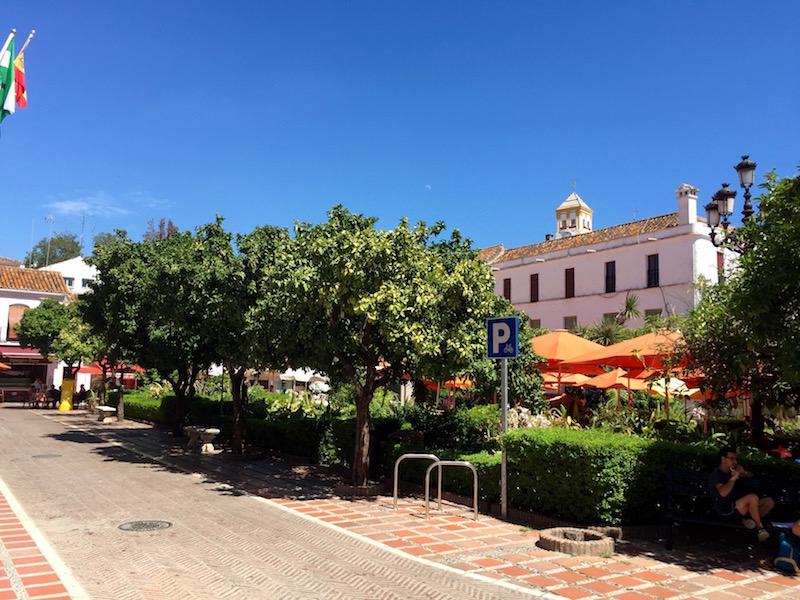 Fot. Tomasz/ Marbella - Plaza de Naranjos