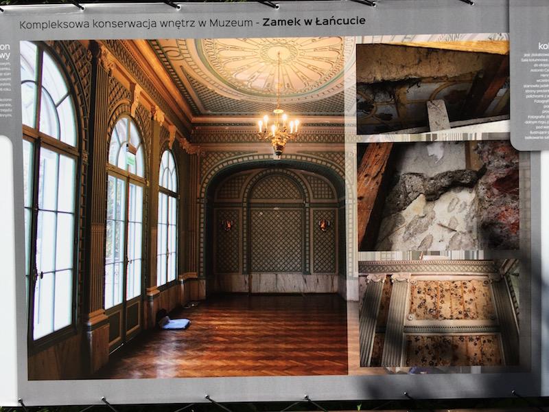 Fot. Tomasz Jakubowski / MojeWedrowki.pl / Zamek w Łańcucie - wnętrza
