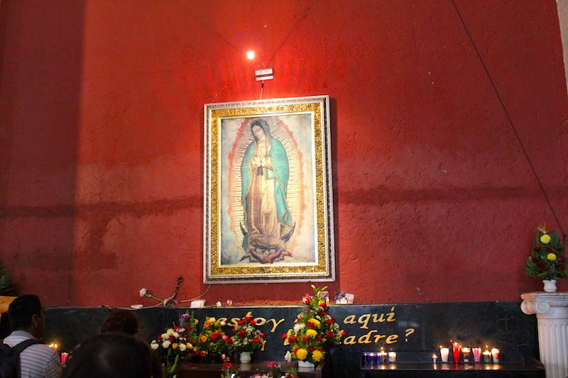 Fot. Tomasz Jakubowski / MojeWedrowki.pl /Obraz Matki Boskiej z Guadalupe