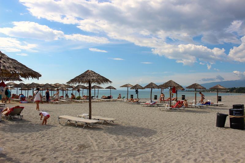 Fot. Wiola Jakubowska/ MojeWedrowki.pl / Hotel Dion - plaża
