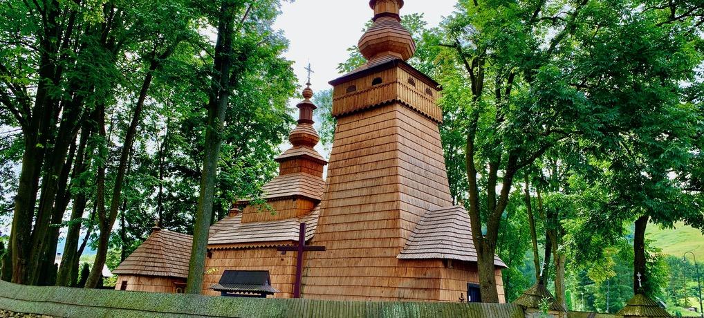 Cerkiew w Powroźniku i Ogrody Zmysłów